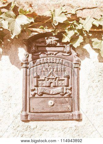 Mailbox Vintage