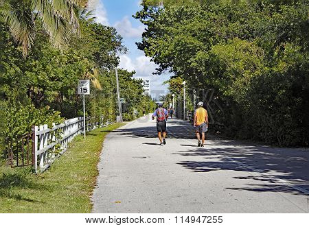 Hollywood Beach Fitness Trail