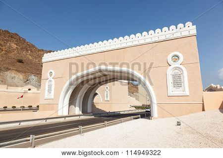 Gate To Muttrah, Oman