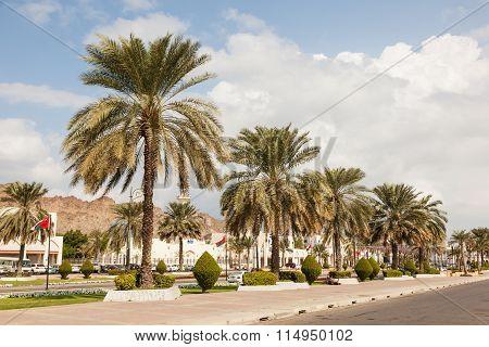 Street In Muttrah, Oman