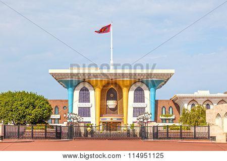 Al Alam Palace In Muscat, Oman