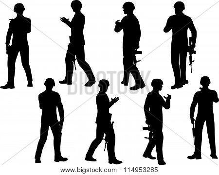 Soldier Walking