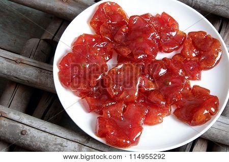 Vietnamese Food,tet, Tomato Jam, Sweet Eating
