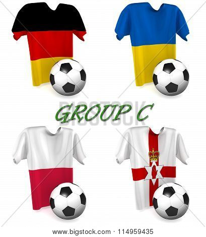 Group C European Football 2016