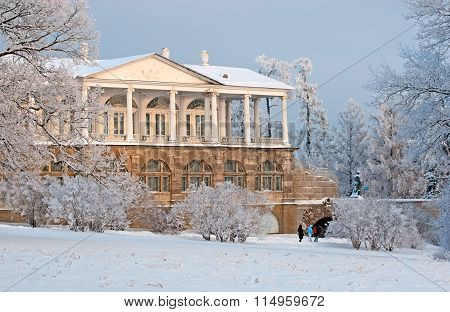 Tsarskoye Selo. Russia. The Cameron Gallery