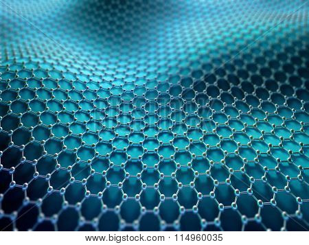 Crystallized Carbon Hexagonal System
