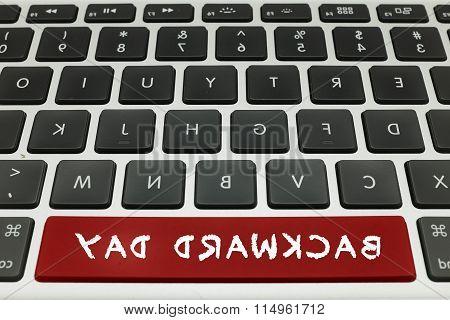 backward Keyboard