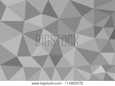 Low poly style vector, grey low poly design, low poly style illustration, Abstract low poly backgrou