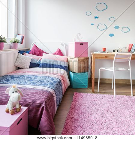 Cute Room For Little Girl