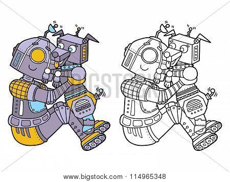 funny robots.