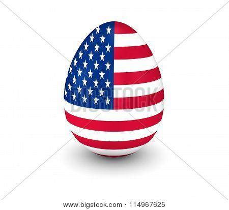 Usa Egg 3D