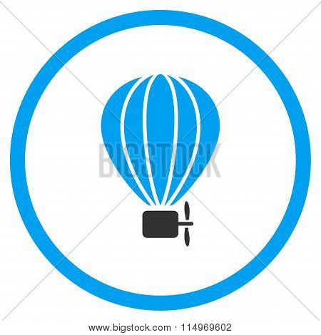 Balloon Airship Icon