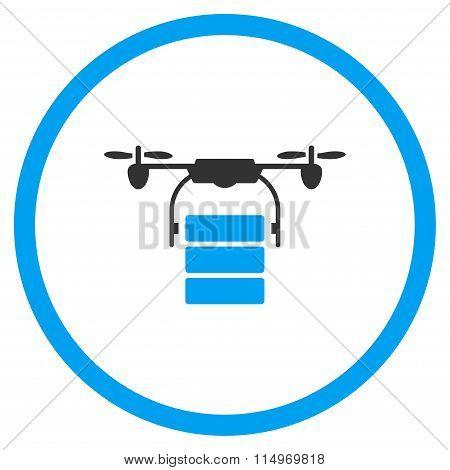 Cargo Drone Icon