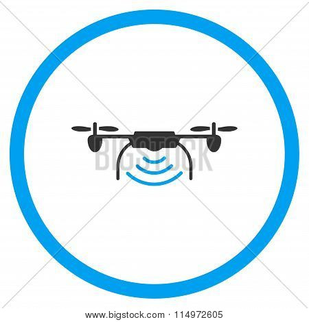 Radio Transmitter Drone Icon