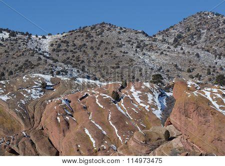 Red Rocks Park landscape