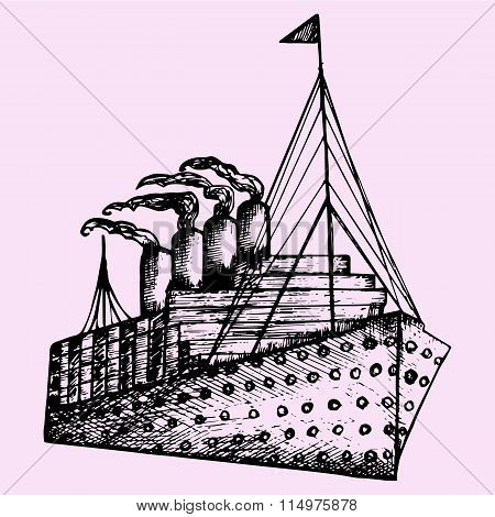 ship, steamboat, steamship