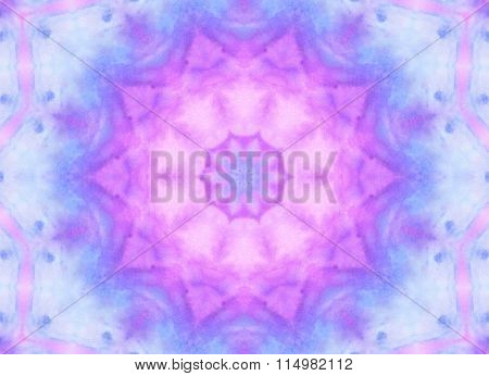 Abstract Watercolor Pattern