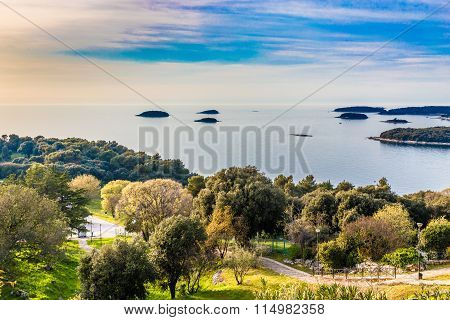 Coastline And Small Islands-vrsar, Istria, Croatia