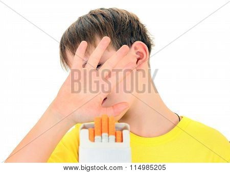 Kid Refuses Cigarettes