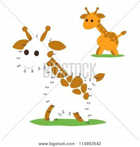 Numbers game, giraffe