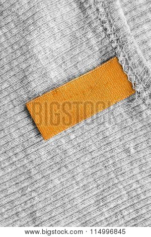 Yellow Clothes Label