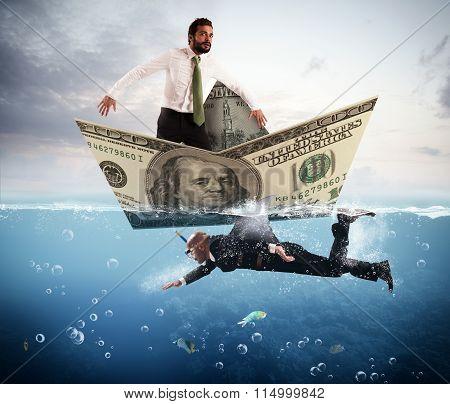 Fear of business sharks