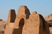 image of skarabaeus  - ancient temple of hatschepsut at theben west - JPG