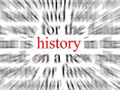 foto of yesteryear  - blurred text with a focus on history - JPG