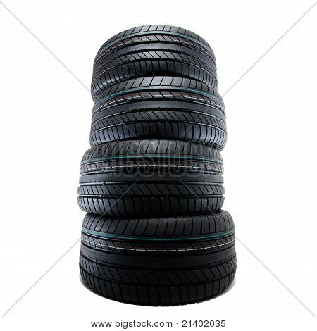 Sport Summer Tires, Isolated