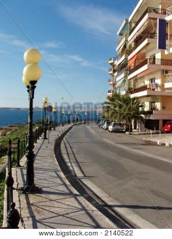 Beach Road, Greece