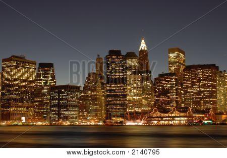 Nyc Skyline Lower East Side 2