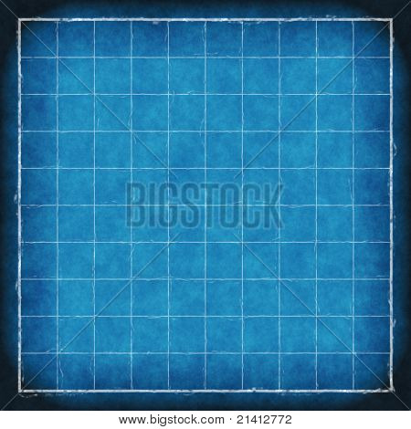 old blue print blueprint background texture