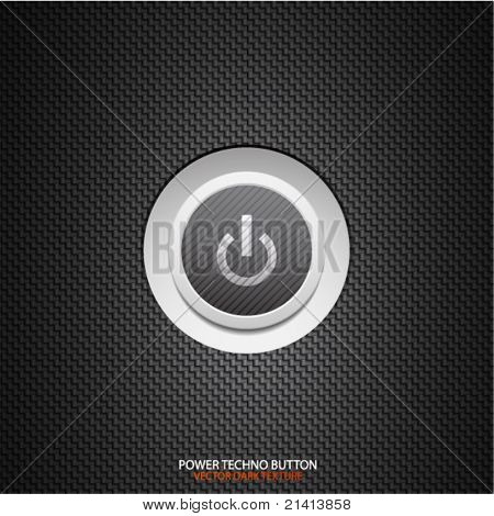 Power button vector abstract background