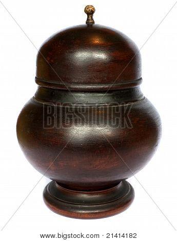 Wooden urne