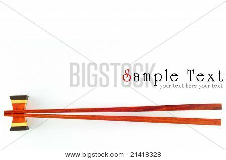 Chopsticks Isolated