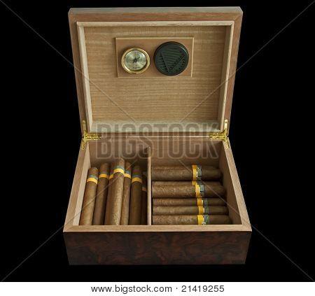 Humidor And Cigars