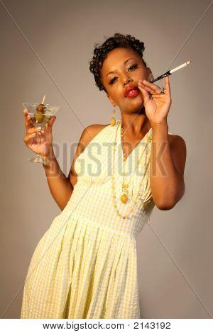 Classy Fifties Woman
