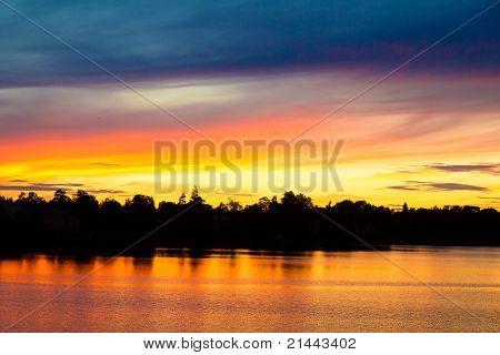 Afterglow Sunset Sky