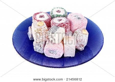 Turkish Delight plate