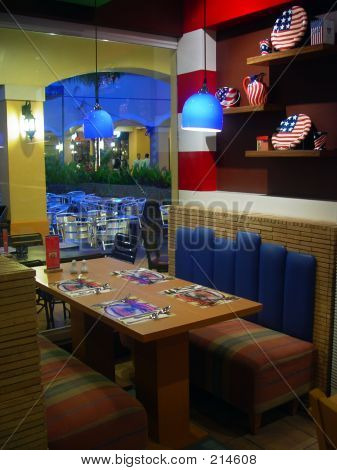 American Restaurant Interior