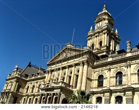 Cape Town City Hall Landscape