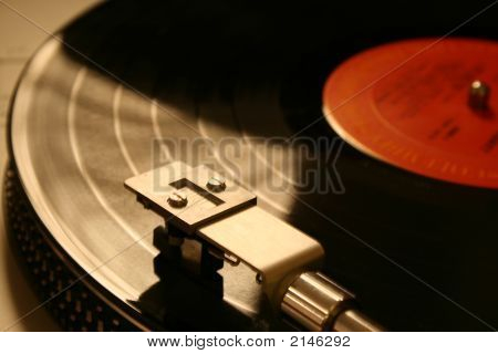 Record Player  Red