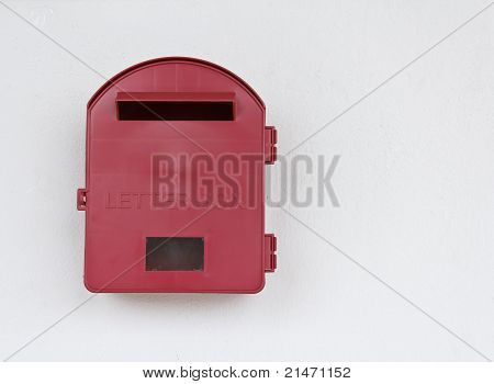Red Letter Box At Malaysia