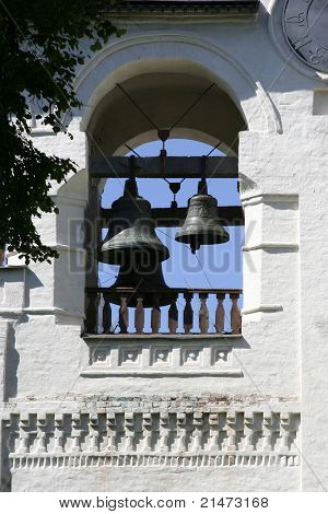 Bells in Saviour-Euthimiev monastery-fortress (Suzdal, Russia)