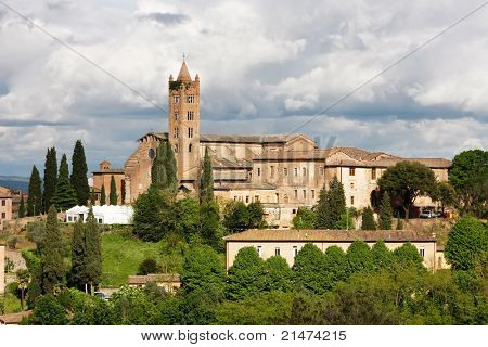 The Basilica of Santa Maria dei Servi, Siena (also known as San Clement) is a Catholic church in Siena, central Italy.