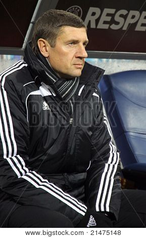 Fc Sheriff Tiraspol Coach Andrei Sosnitski