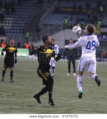 Dynamo Kyiv vs Sheriff Tiraspol