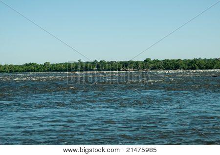 Small Rapids On The Ottawa River