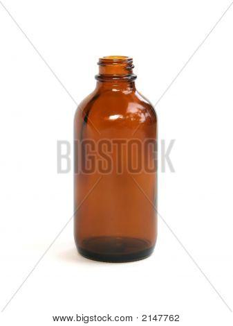 Brown Medicine Bottle