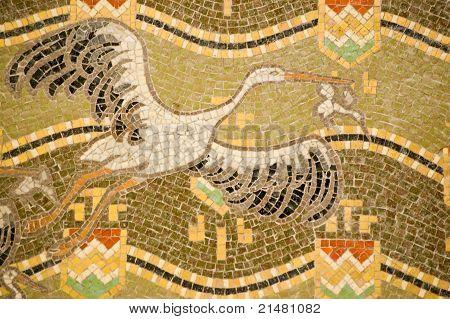 Storks mosaic, Venice